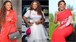 Photo of Jackie Appiah dressed like Ghana's finest female soldier drops; Nigerian celebs all over her