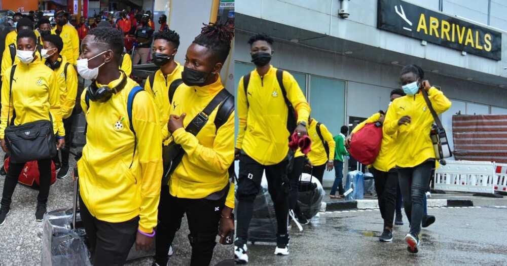 Ghana's Black Queens touch down in Lagos for 2021 Aisha Buhari invitational tournament