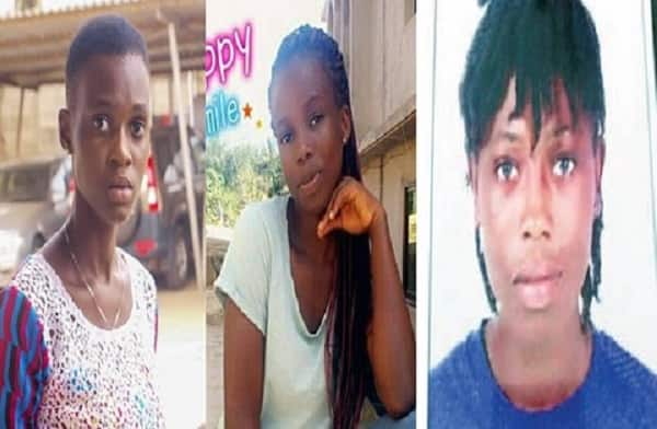 Families of three missing girls appeal to public to help find them