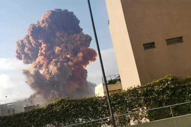 Dozens killed, several injured following massive explosion in Beirut