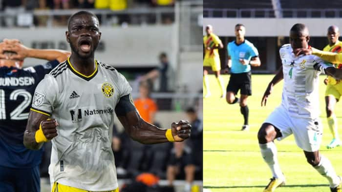 Six points in the bank - Ghana defender Jonathan Mensah reacts to wins against Zimbabwe