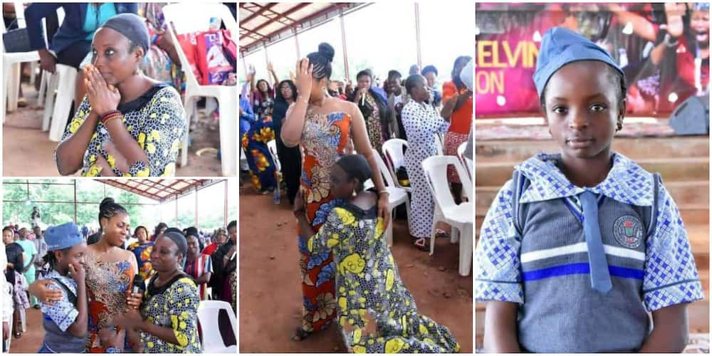 Reactions as Nigerian female pastor gifts 12-year-old Muslim girl scholarship
