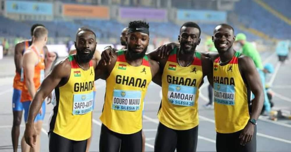 Tokyo 2020: Ghana's relay team reach finals of 4x100m race after setting new national record