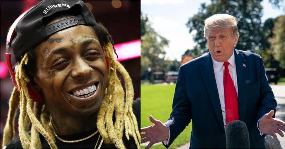 Lil Wayne publicly endorses Donald Trump, fans are not having it