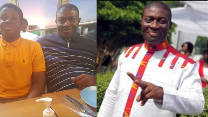 Nana Akomea flaunts his lookalike son for the first time to celebrate boy's birthday