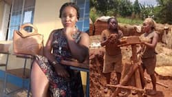 11 photos of the attractive woman who made bricks to fund herself through school