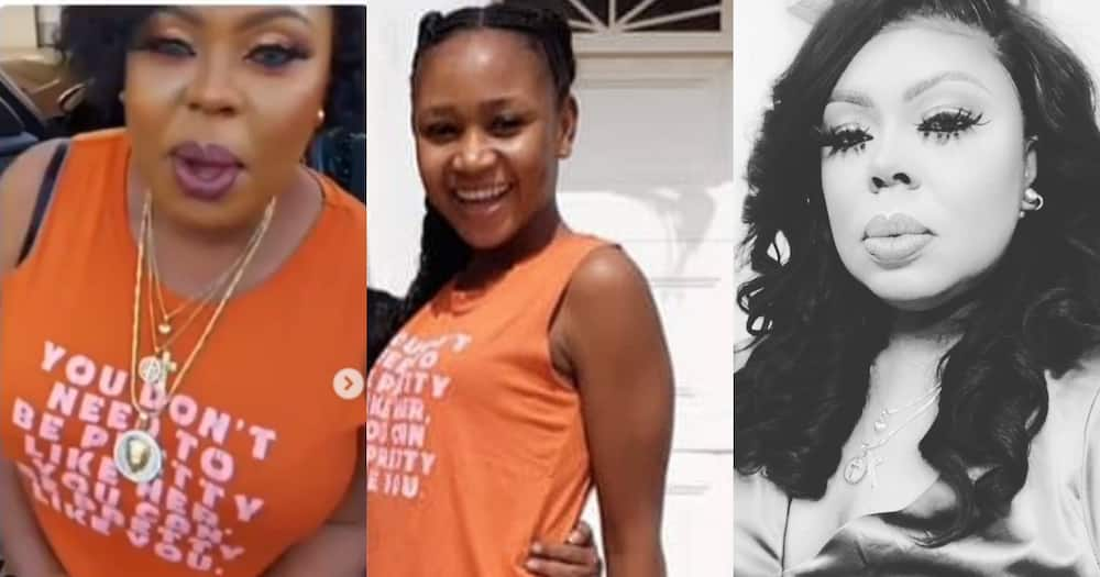 Akuapem Poloo says Afia Schwar wears GHC4 top she bought for her (video)