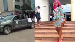 Video pops up as police arrest Efia Odo in court over #FixTheCountry demo