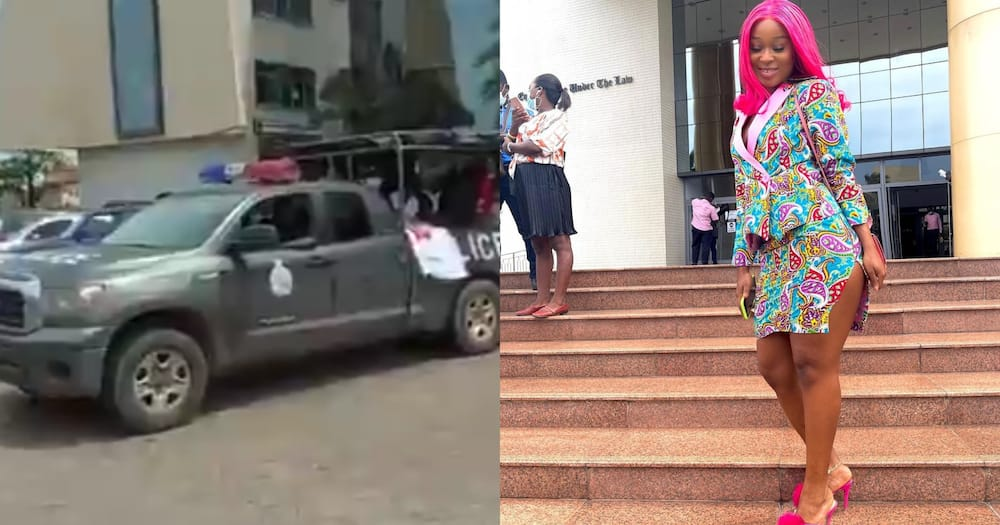 Efia Odo arrested in court over #FixTheCountry Demo
