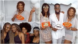 More exciting photos from Genevieve Nnaji's private 40th birthday celebration pop up