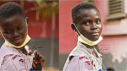 Rita Awuni: 17-year-old Ghanaian student defies odds as she returns to school with her 10-month-old son