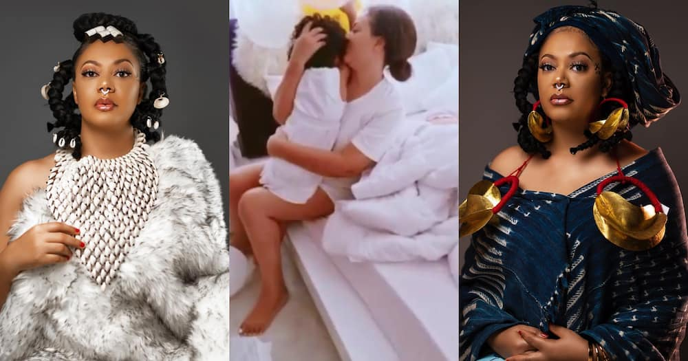 Nadia Buari's daughters surprise her on birthday (video)