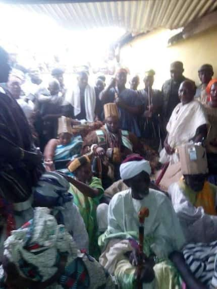 A new regent of Dagbon has been temporarily installed