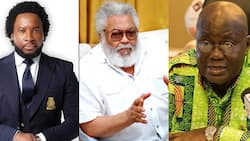Ghanaians debate on Sonnie Badu's move to have KIA renamed after Rawlings; some agree, others disagree with reasons