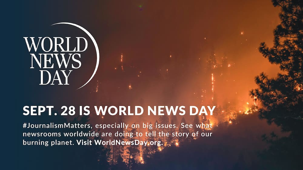 World News Day: YEN.com.gh Joins Calls to Highlight Climate Change Crisis