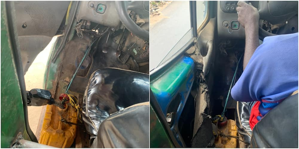 Wetin You No Go See for Lagos? Danfo Using Keg as Fuel Tank Causes Stir on Social Media, Many React