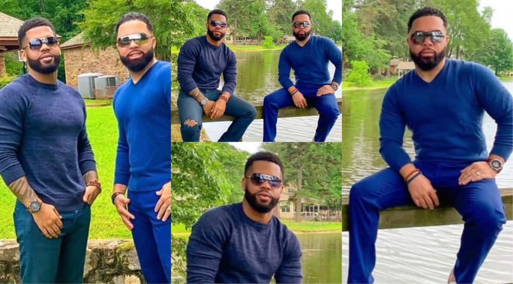 Photos handsome lookalike father and son triggers massive reactions online