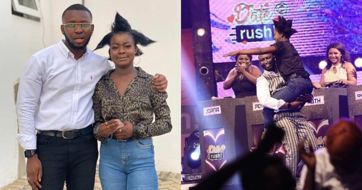 Date Rush: Fatima And Fine Boy Bismark Go On Their 1st Date; Photos Drop ▷  Ghana news | YEN.COM.GH