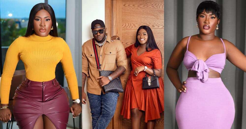 Fella Makafui: Actress Gets Her Husband Medikal Shouting Over New Hot Photos