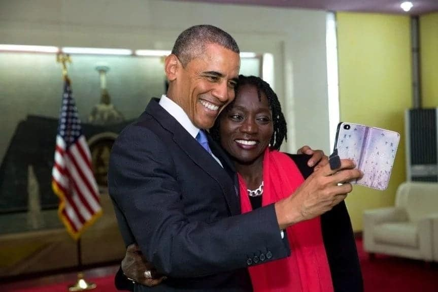 Auma Obama shaves her dreadlocks, sparks varied reactions from online followers