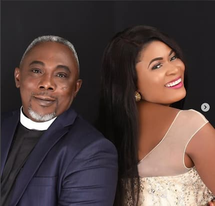 Nayas 1 taunts Apostle John Prah's wife with more wild wedding photos with her husband