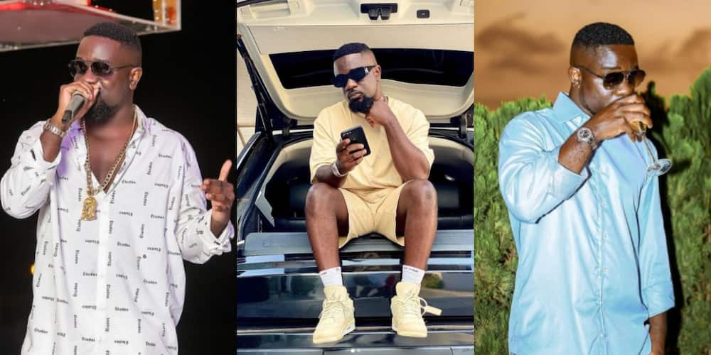 Sarkodie lunches branded sunglasses Obidi; urges fans to buy