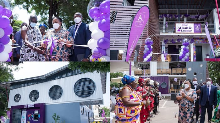 Photos drop as Rebecca Akufo-Addo commissions The Atlantic Lounge by First Atlantic Bank at Korle-Bu Teaching Hospital