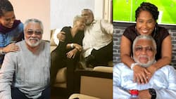 """""""So dearly missed"""" - Rawlings' girlfriend Natalie Yamb drops loved-up photo; Ghanaians console her"""