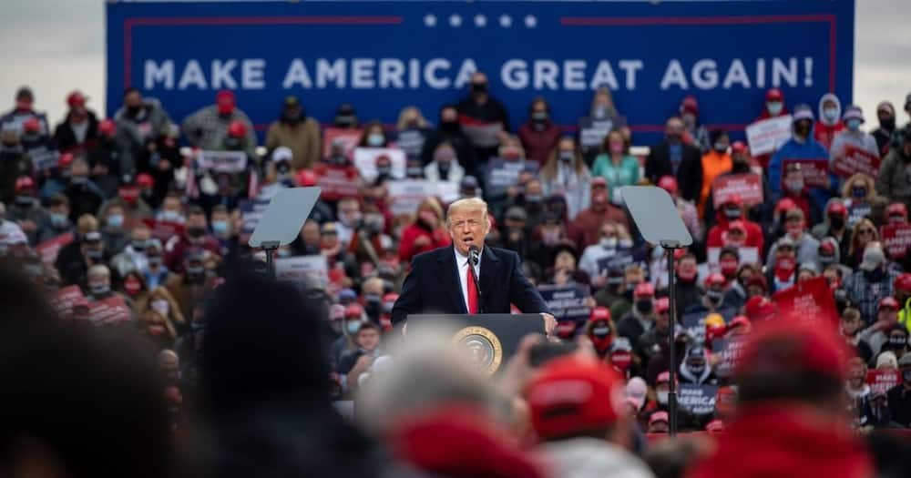 US elections 2020: Donald Trump insists winner should be declared Tuesday night as Americans head to the ballot
