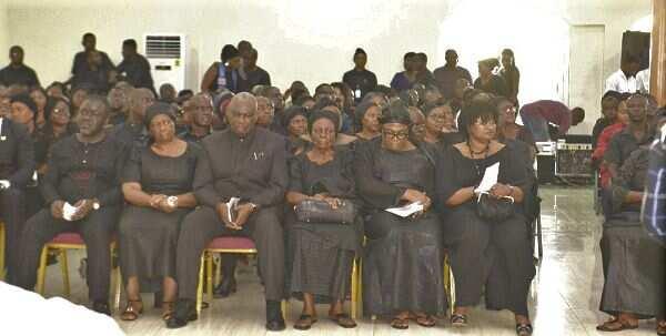 Video: Boakye Agyarko barely greets Akufo-Addo at late brother's memorial