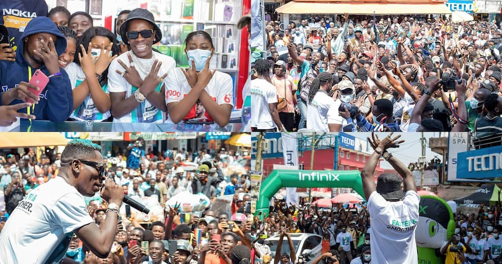 Shatta Wale performs at Odo Rise