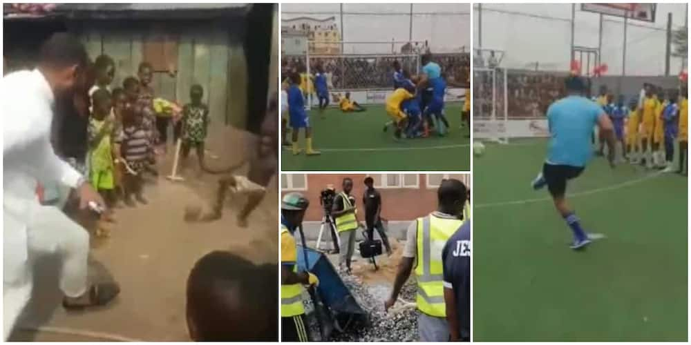 Community Kids Get Fine Soccer Pitch, Enrolled in School after Challenging a Stranger in Street Football Game