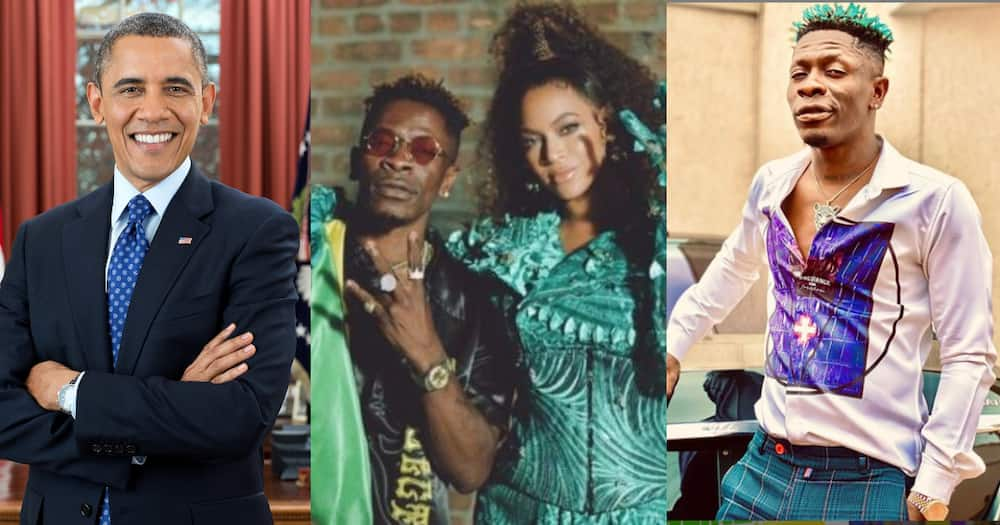 Shatta Wale reacts after his song with Beyonce made it on Barrack Obama's Summer Playlist