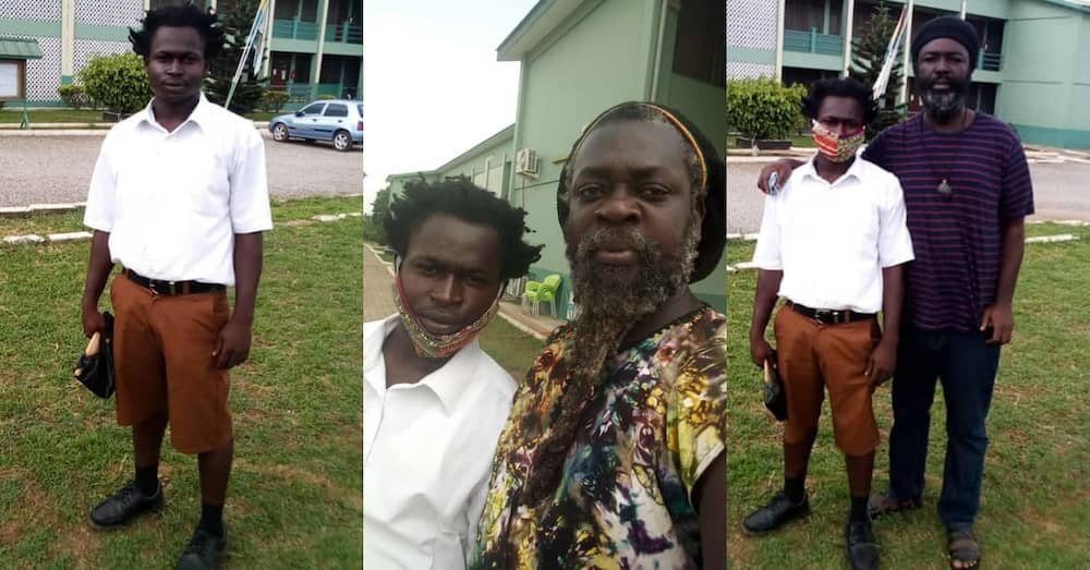 I'd rather quit school than cut my hair - Rasta student admitted at Okess says