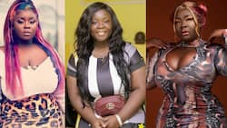 Old photo of when Kumawood star Maame Serwaa started acting as a sweet little girl pops up