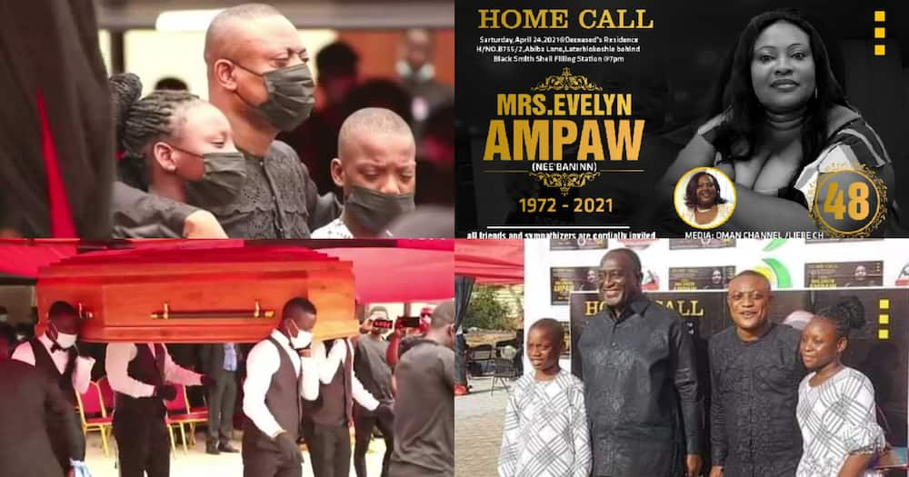 Maurice Ampaw: Top Lawyer's Late Wife Buried; VIdeo Drops