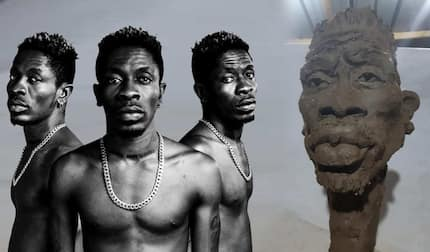 Meet the sculptor who made an ugly caricature of Shatta Wale