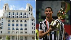 Cristiano Ronaldo Launches New Hotel in Madrid As Former Real Madrid Star 'Attacks' Him
