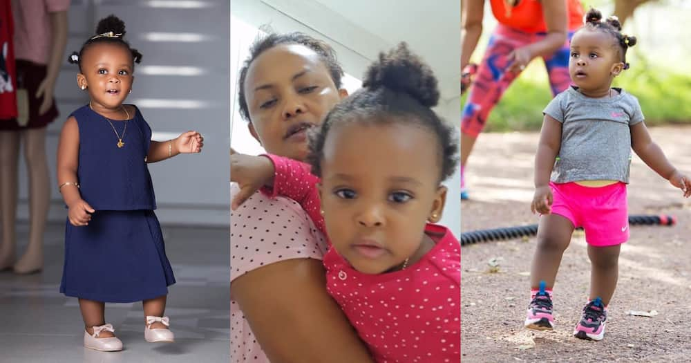 McBrown and Baby Maxin give mother and daughter goals in latest video