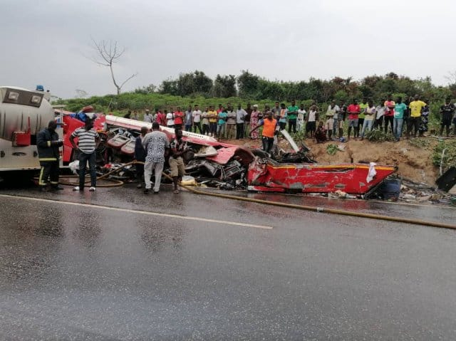 Accident at Offinso in Ashanti Region allegedly kills 6 Ghanaian footballers
