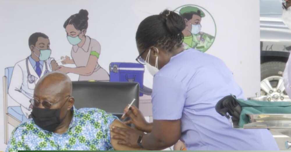 Akufo-Addo and his wife, Rebecca take COVID-19 vaccine, Bawumia and Samira to follow