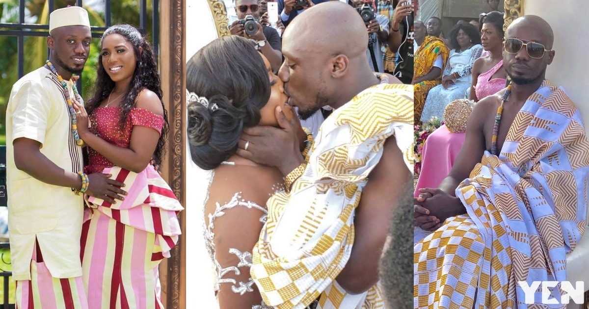 Video of Lebene and Nkansah's first dance at wedding wows Ghanaians