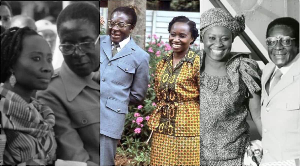 Powerful photos of Sarah Hayfron the first wife of former President Mugabe pops up