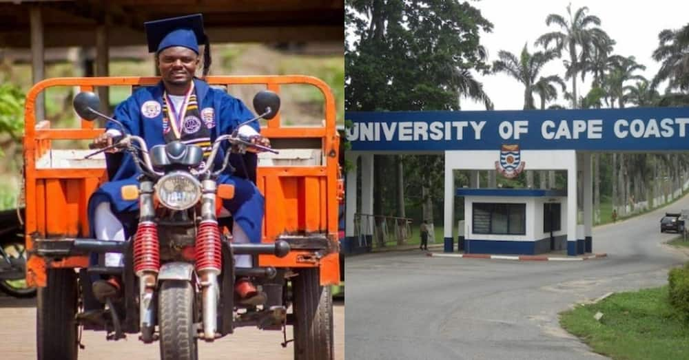'Aboboya' rider at UCC graduates as best student in Law of Taxation