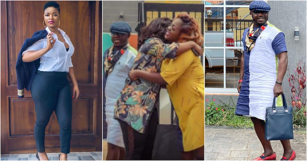 Tracey Boakye features Osebo and ex-wife Ohemaa in new TV series Instagram Police (photo)