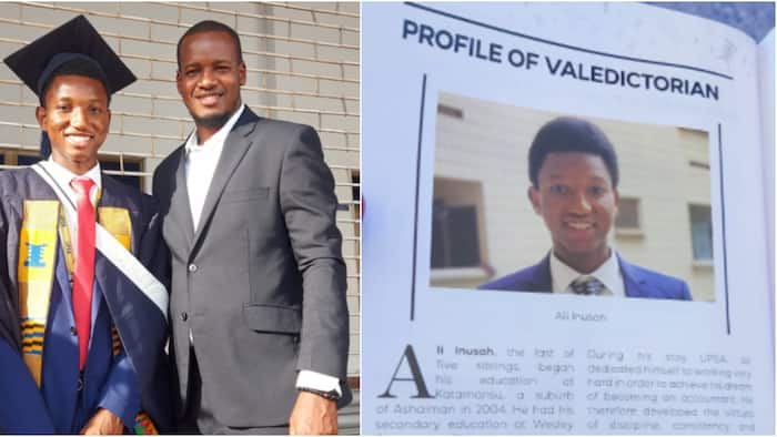 Ali Inusah: Ghanaian Student who Worked as Herdsman Emerges 2021 Valedictorian at UPSA