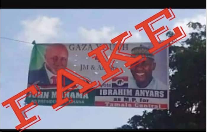 Fact check: Ignore planted 'skirt and blouse' posters of Dr. Anyars