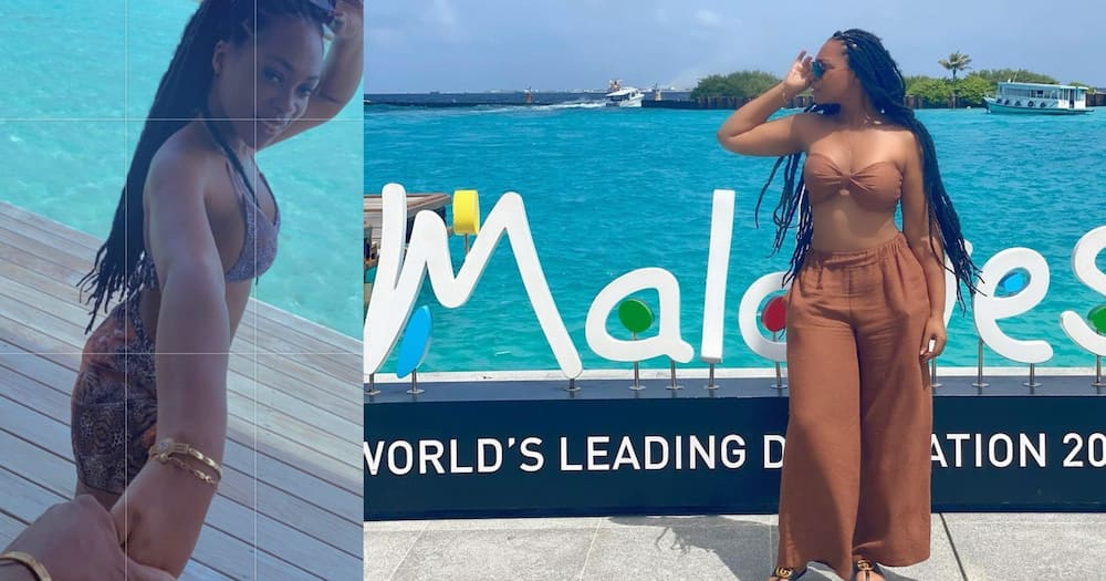 Shatta Michy Gets A New Bae; Photos And Videos From Their Vacation In Maldives Drop