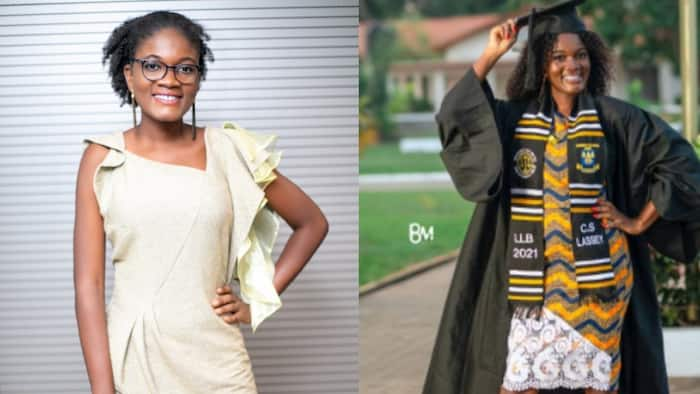 Christine Selikem Lassey: I made valedictorian & passed the entrance exam to the Ghana School of Law