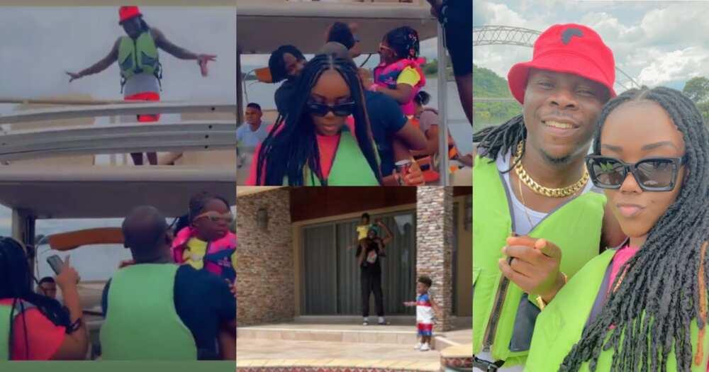 Stonebwoy, Louisa, Jidula Chill On Weekend Vacation At Royal Senchi; Video And Photos Drop